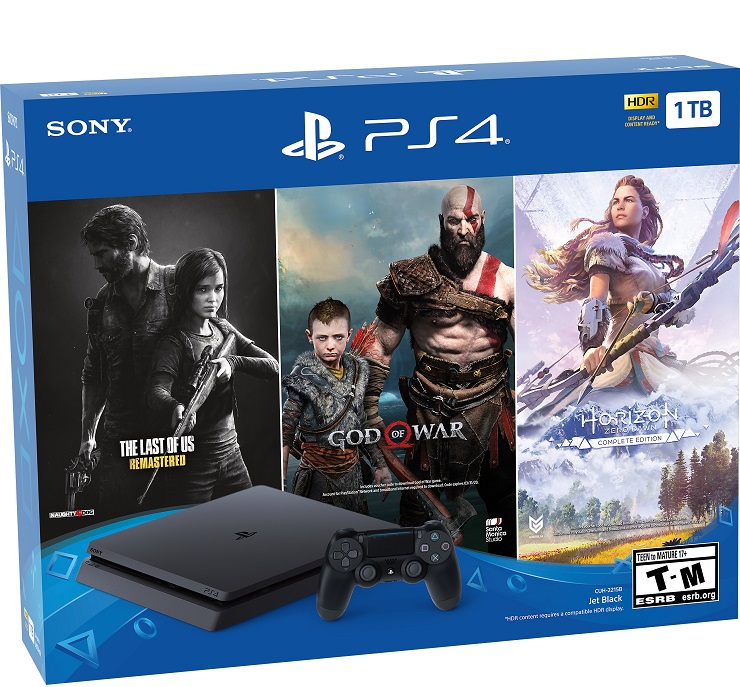"PlayStation 4 1TB ""Only on PlayStation"" Bundle"